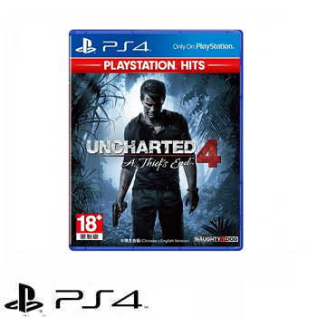 PS4 秘境探險4 Hits Uncharted 4: A Thief's End  - 中文版