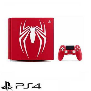 「限量特仕同捆組」【1TB】漫威蜘蛛人 Marvel's Spider-Man PS4 Pro 主機