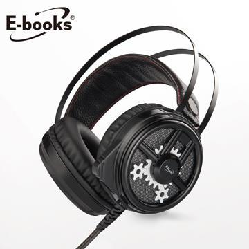 E-books SZ3黑武士炫光电竞耳麦(E-EPA182)