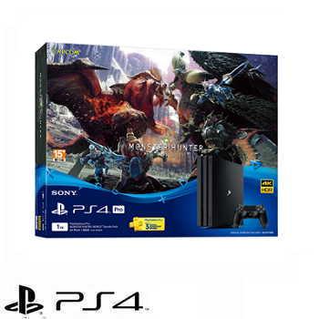 「同捆組」【1TB】PS4 Pro 魔物獵人: 世界主機