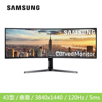 【43型】SAMSUNG C43J890DKE 曲面液晶显示器(C43J890DKE)