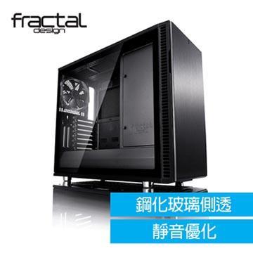 【Fractal Design】 Define R6 TG 全黑化 鋼化玻璃透側電腦機殼(FDDEF-R6-BKO-TG)