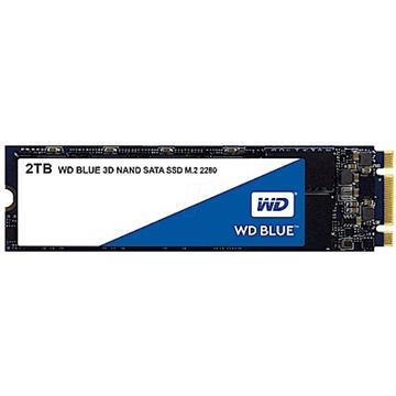 WD SSD Blue系列-2TB固态硬盘(3D TLC)(WDS200T2B0B)