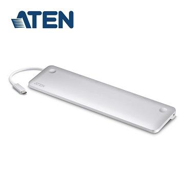 ATEN MacBook 用 USB-C 10合1 扩充基座(UH3234-AT)