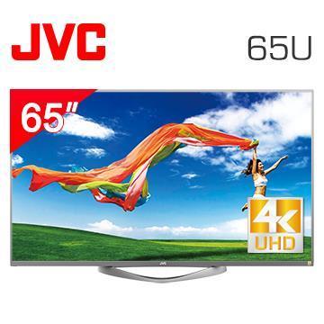 JVC 65型4K連網液晶顯示器+視訊盒