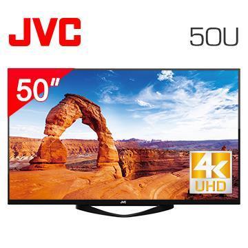 JVC 50型4K连网液晶显示器+视讯盒(50U)
