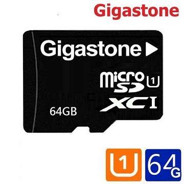 【U1 /  64G】Gigastone MicroSD 记忆卡-含转卡(MicroSDXC UHS-I U1 64G)
