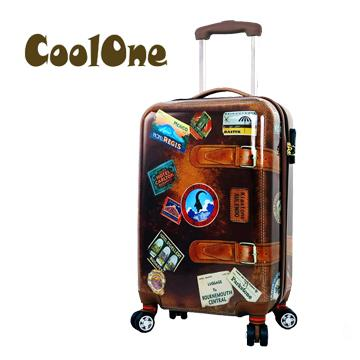 Coolone 仿復古20吋ABS行李箱(TK-SP194)