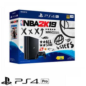 「同捆組」【1TB】PS4 Pro NBA 2K19 主機