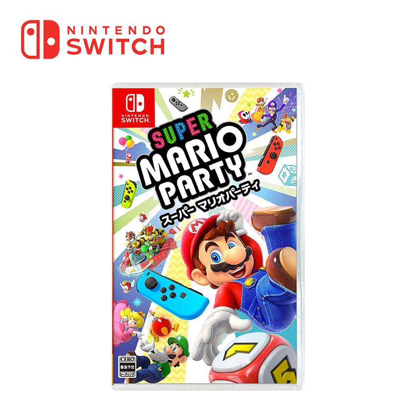 任天堂 Nintendo Switch 超級瑪利歐派對 Super Mario Party - 中文版