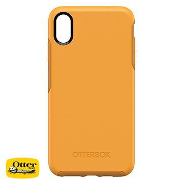 【iPhone XS Max】OtterBox Symmetry防摔殼 - 黃色