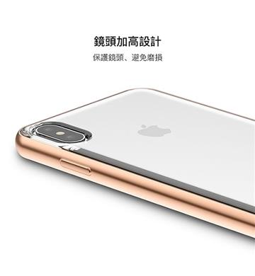 【iPhone XS Max】Moshi Vitros 超薄透亮背殼 - 金色