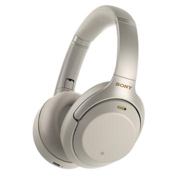 SONY WH-1000XM3无线蓝牙降噪耳机-银(WH-1000XM3S)