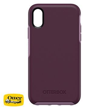 【iPhone XR】OtterBox Symmetry防摔殼 - 紫色(77-59819)