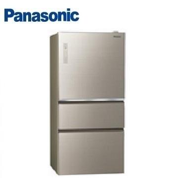 Panasonic 610公升玻璃三门变频冰箱(NR-C610NHGS-N(翡翠金))