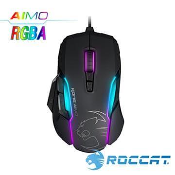 ROCCAT Kone-AIMO魔幻系列RGBA电竞鼠标-黑(Kone-AIMO-BK)