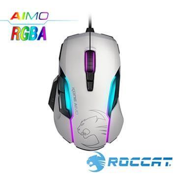 ROCCAT Kone-AIMO魔幻系列RGBA电竞鼠标-白(Kone-AIMO-W)