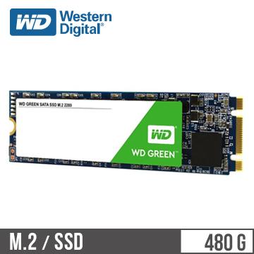 WD M.2 2280 480GB SATA固态硬盘(绿标)(WDS480G2G0B)
