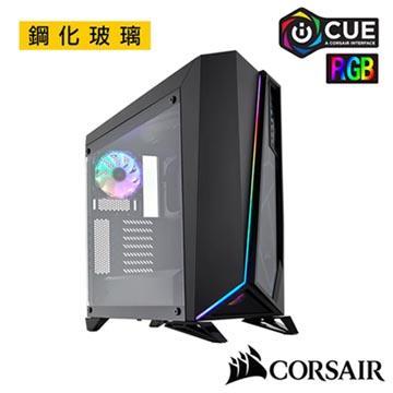 CORSAIR SPEC OMEGA RGB 鋼化玻璃機殼-黑(CCSpecOmegaRGB-BK)