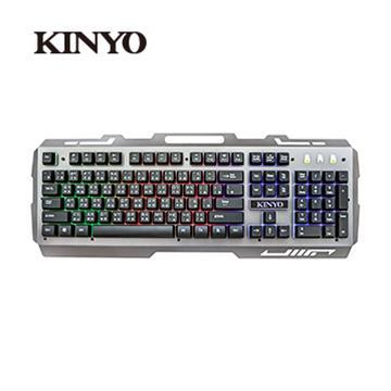 KINYO GKB-2000 USB懸浮電競發光鍵盤(GKB-2000)