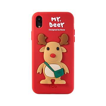 【iPhone XR】Bone 公仔保護套 - 麋鹿先生(PH18081-DEE)