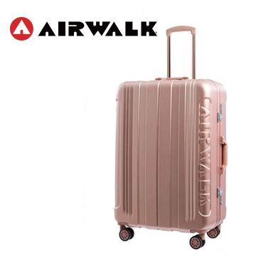 AIRWALK 金屬森林20吋鋁框行李箱(玫銅金)(TK-SP7500-20金)