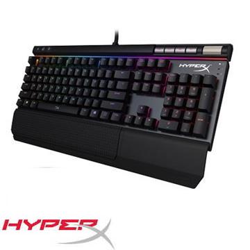 金士頓HyperX Alloy Elite RGB電競鍵盤紅軸(HX-KB2RD2-US/R1)