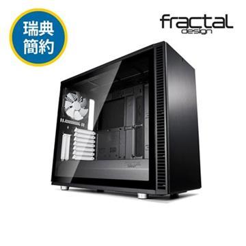 瑞典Fractal Design S2 TG電腦機殼-黑(FDDEF-S2-BK-TGL)