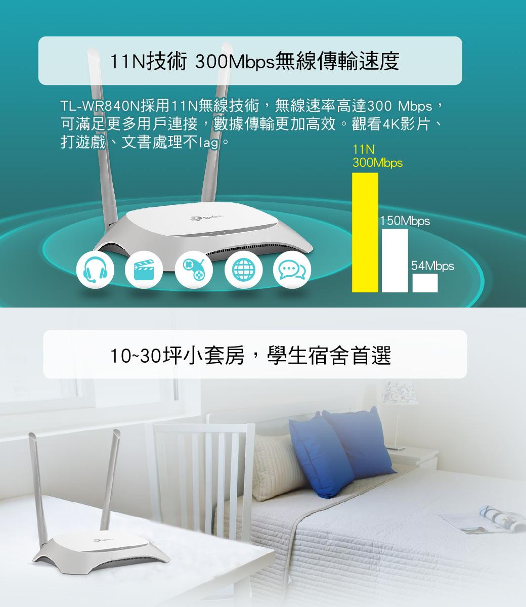 Tp Link Tl Wr840n 300m Ntl Wr840ntw 3 Wr 840n Wireless Router Tplink 300mbps