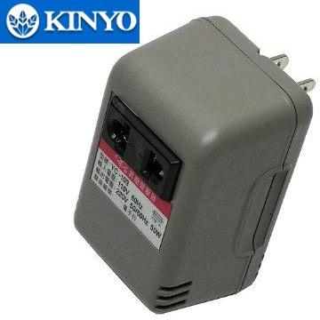 KINYO 110V變220V電源昇壓器(YC-103)