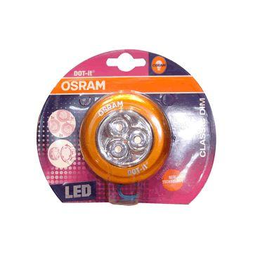 歐司朗 LED隨身燈調光型(紅)(80120-3)