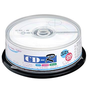 中環 52X CD-R 20入桶裝(CMCCDRGD013A)
