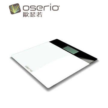 【展示機】oserio超薄玻璃體重計(BAG-282)