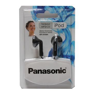 Panasonic耳塞式耳機(RP-HV094GU-K)