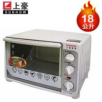 【福利品】 上豪18公升電烤箱(TS-1800B)