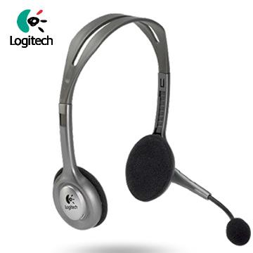 羅技 H110 頭戴式耳機麥克風(981-000215)