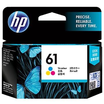 HP 61號彩色墨水匣(CH562WA)