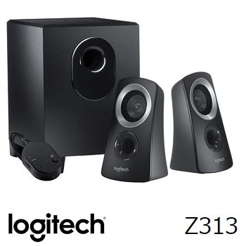 羅技 Logitech Z313 2.1 聲道多媒體喇叭(980-000448)