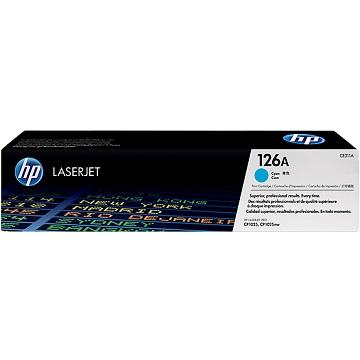 HP 126A 藍色原廠碳粉匣