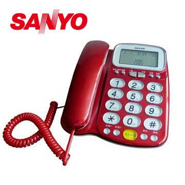 三洋助聽功能有線電話