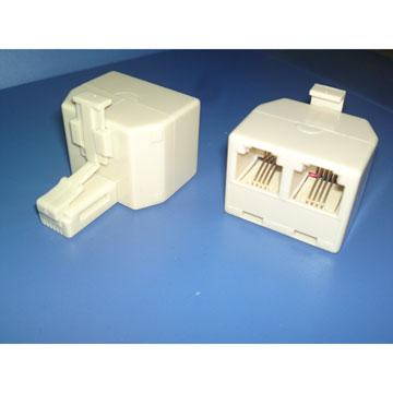 MIPA 美式4芯電話線連接頭CY-TA014(CY-TA014)