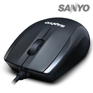 SANYO 有線光學環保鼠(SYMS-M8)