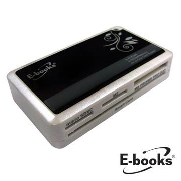 E-books T12 ATM+SIM+記憶卡複合讀卡機(E-PCE040)