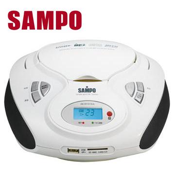 聲寶 MP3/USB手提CD AK-W1013UL(AK-W1013UL)