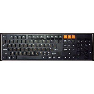 Beauty 巧克力有線鍵盤(BKB-1102-UBK)