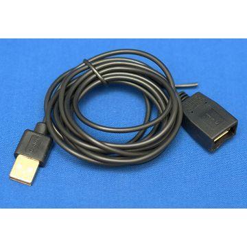 R-driver USB 2.0傳輸線-A公對A母(RLNE-U2AMAF2BK)