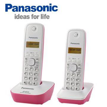 【福利品】Panasonic 2.4G數位高頻雙手機無線電話(KX-TG3412)