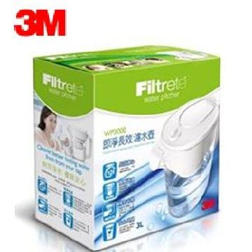 3M 即淨長效濾水壺(白)(WP3000-WH)