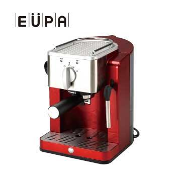 【福利品】EUPA幫浦式高壓蒸氣咖啡機(TSK-1827RA)