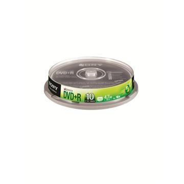 SONY 16X DVD+R/10片桶裝(10DPR47S3SP)